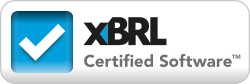 XBRL certification