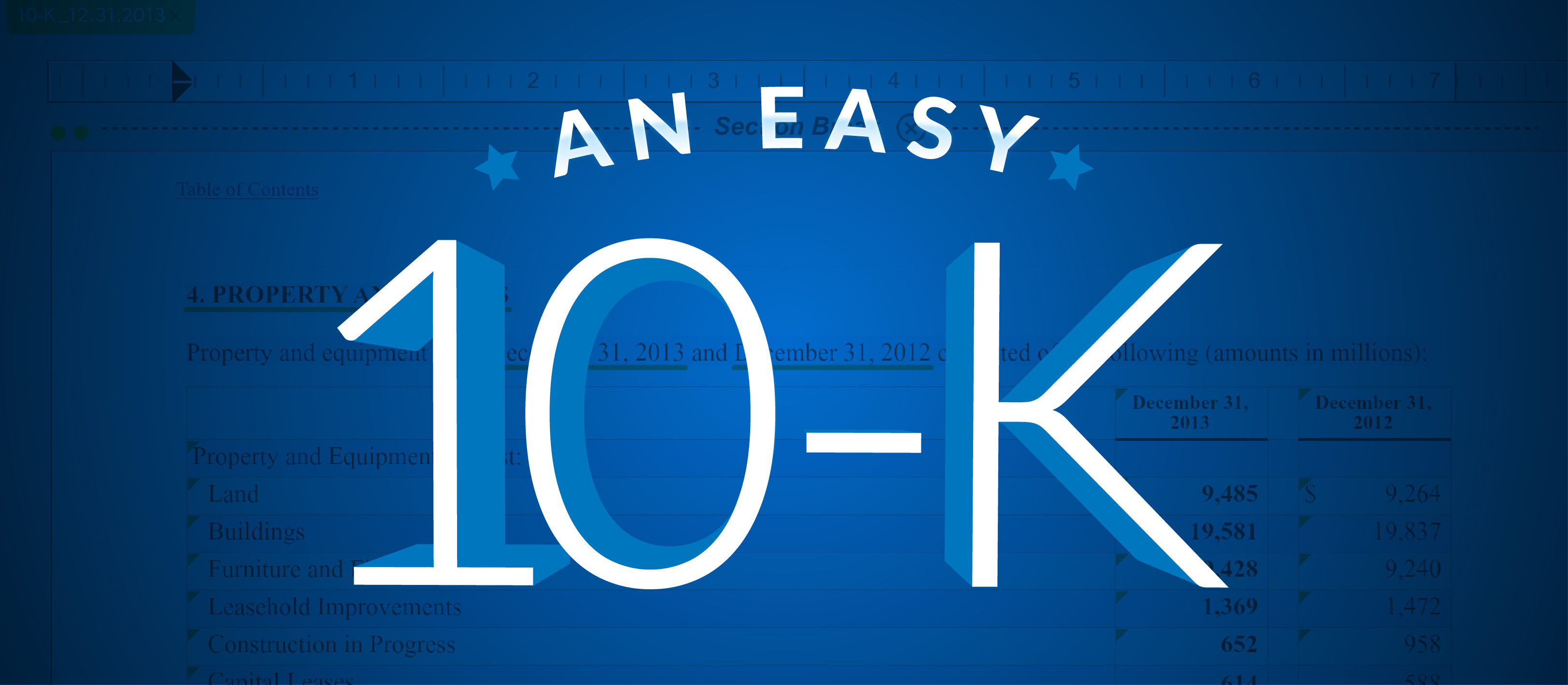 start with a 10k blog