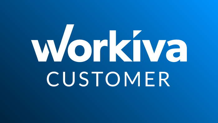 Workiva Customer