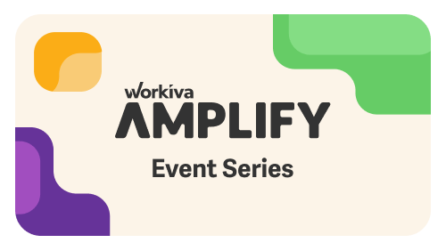 Workiva Amplify Event Series