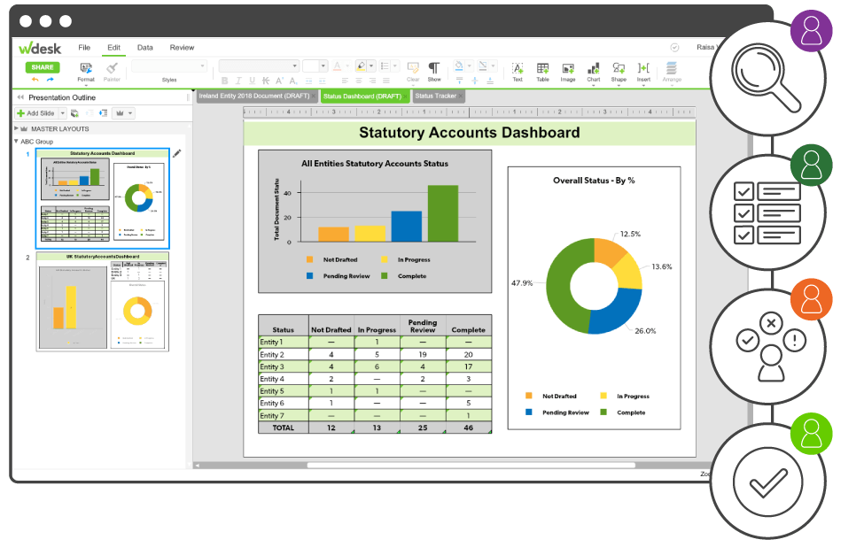 Statutory Accounts Dashboard