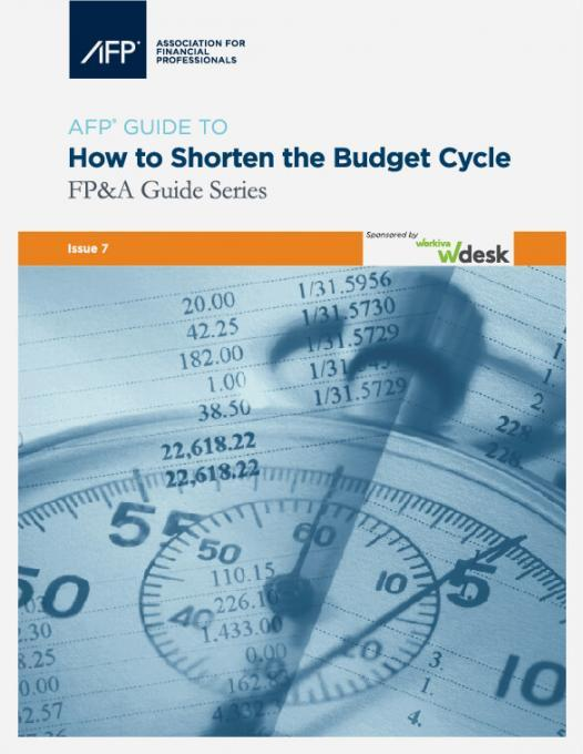 AFP guide: how to shorten the budget cycle