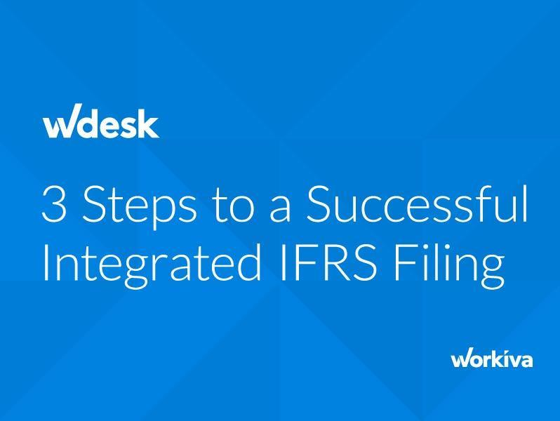 3 Steps to Successful Integrated IFRS Reporting