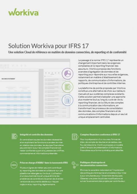 IFRS 17 Datasheet