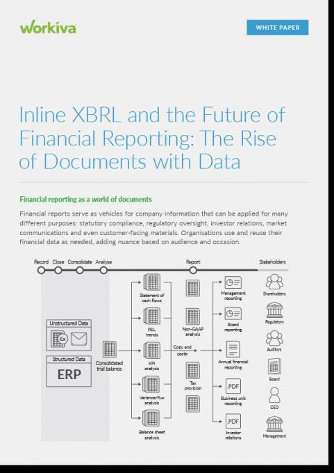 Inline XBRL and the Future of Financial Reporting