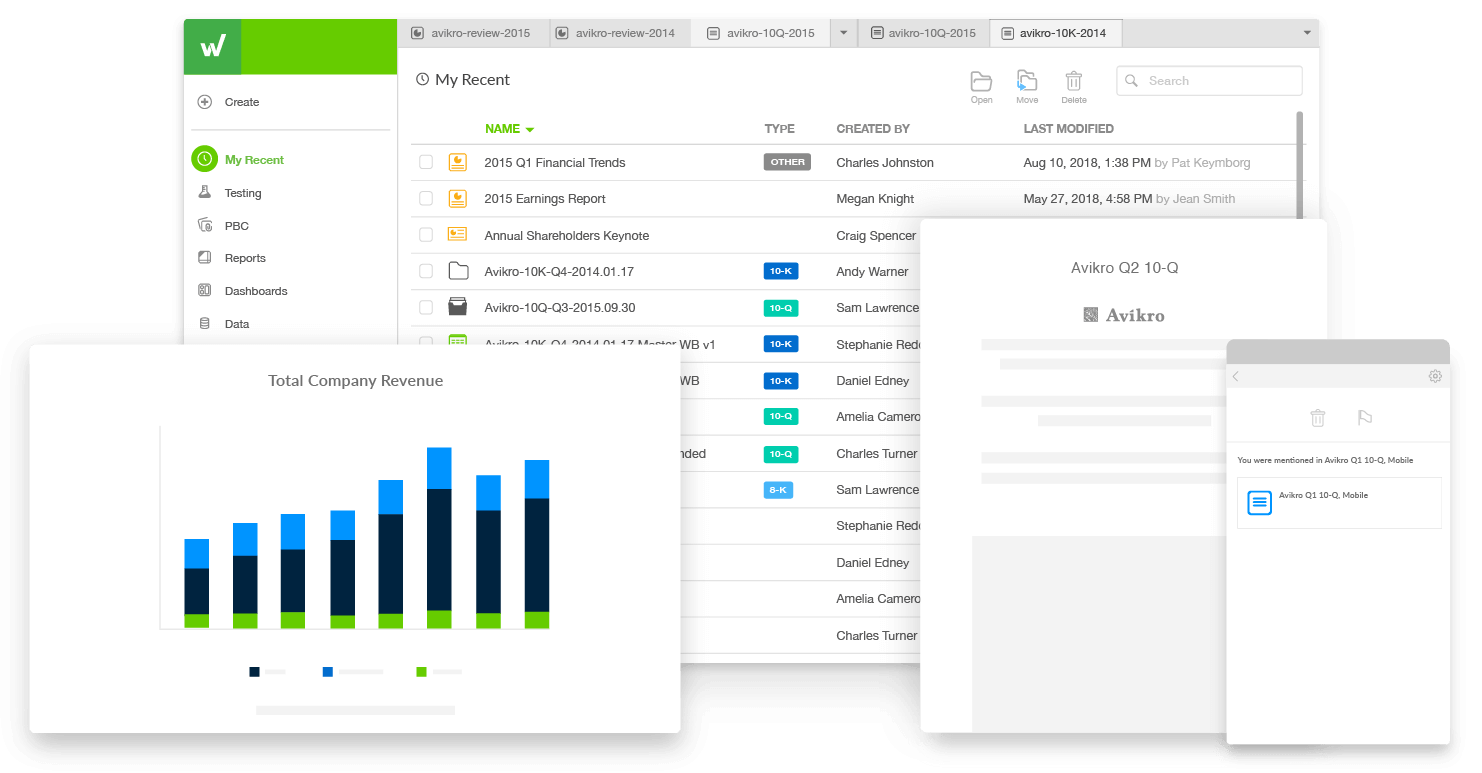 transform your reporting processes with workiva