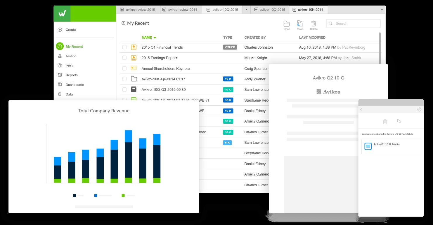 transformez vos processus de reporting avec Workiva