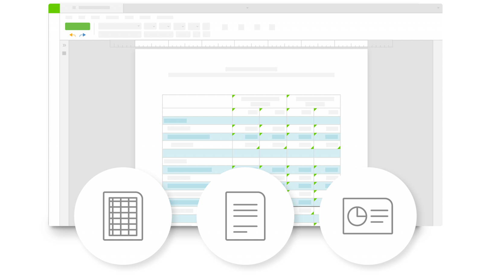 workiva documents, spreadsheets and presentations