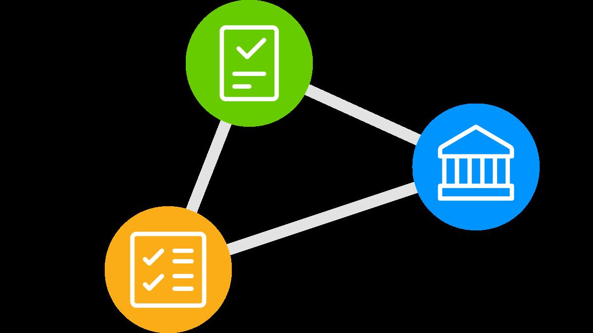 Verknüpfen Sie Ihre Daten, Dokumente und Berichte