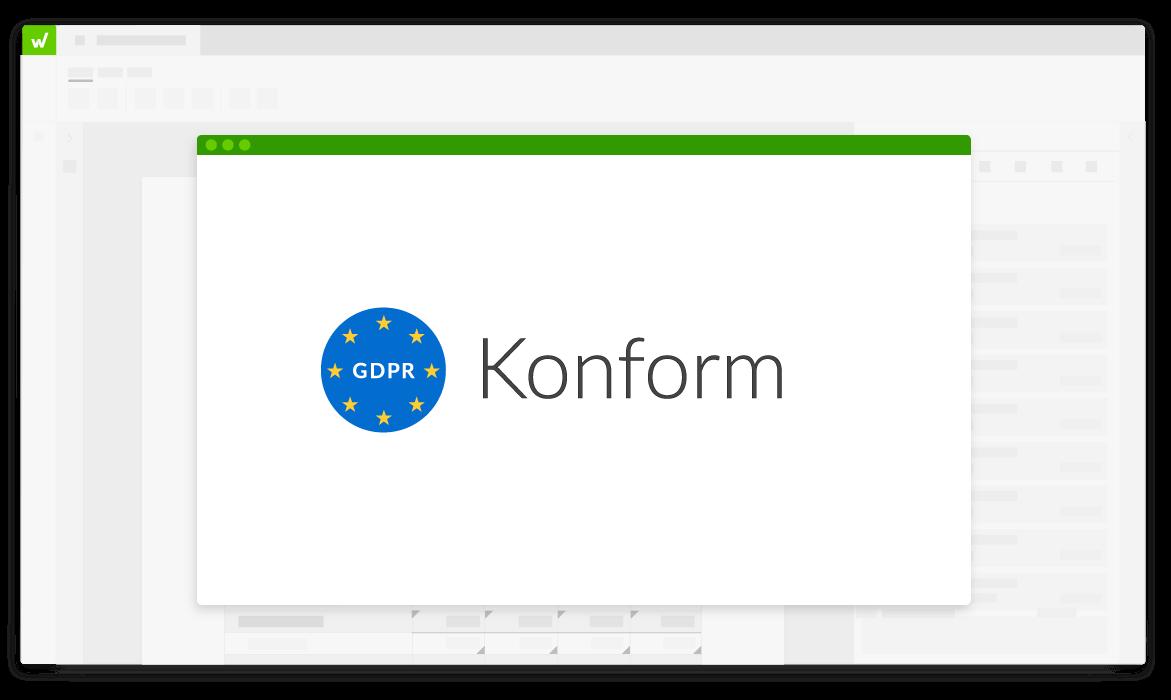 Die Workiva-Plattform ist DSGVO-konform