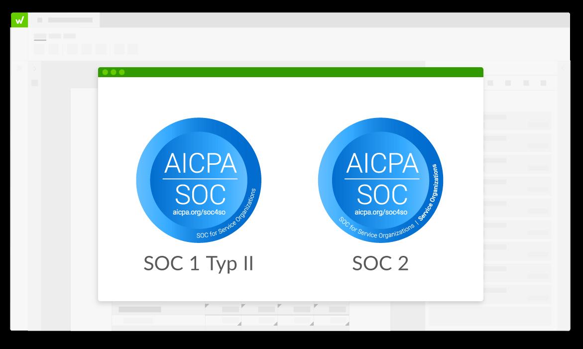 SOC 1 und SOC 2 Logos