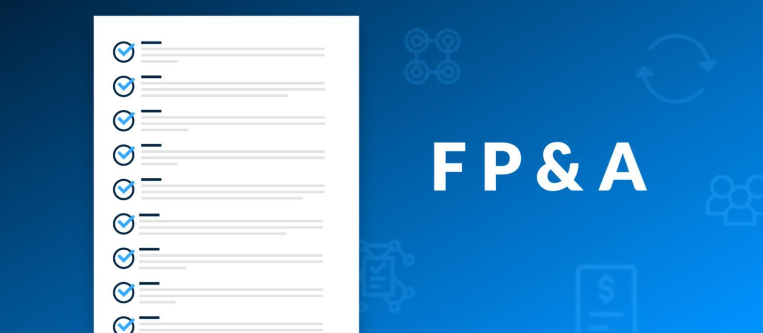 In neun Schritten zu einem einfacheren FP&A-Prozess