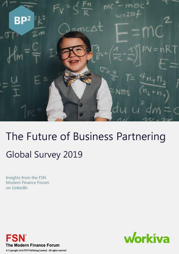 The Future of Business Partnering: Global Survey 2019