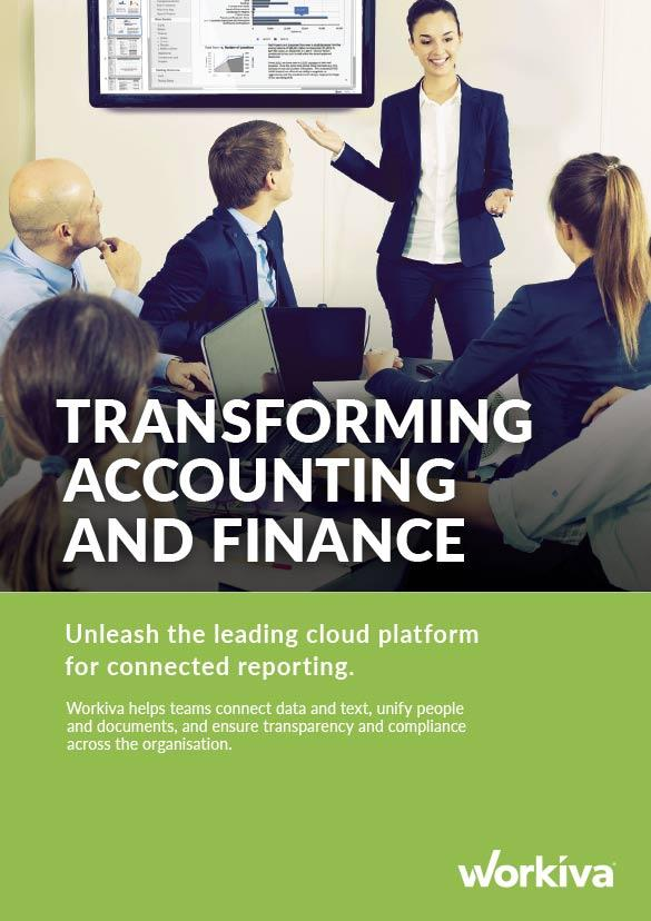Accounting and Finance Brochure