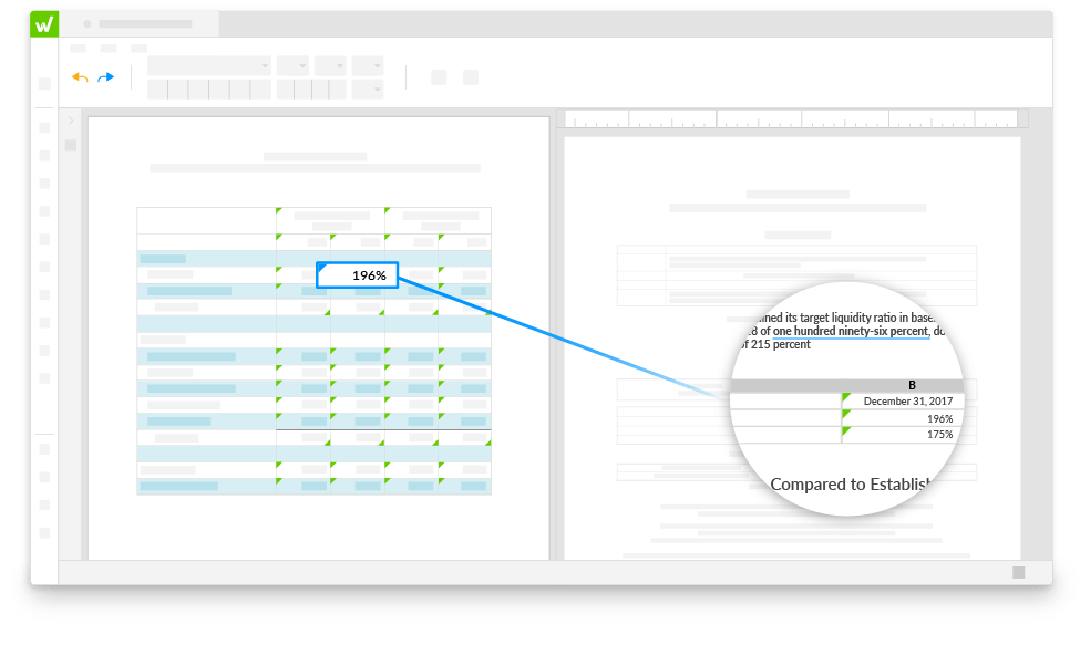 Consistency across your reports