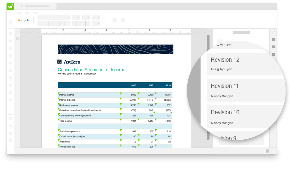 Unequaled financial reporting visibility