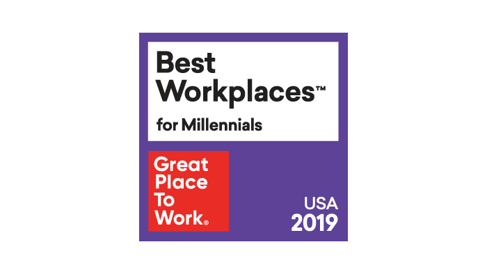 2019 Best Workplaces for Millennials