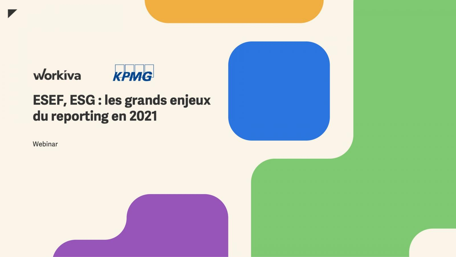 ESEF, ESG : les grands enjeux du reporting en 2021
