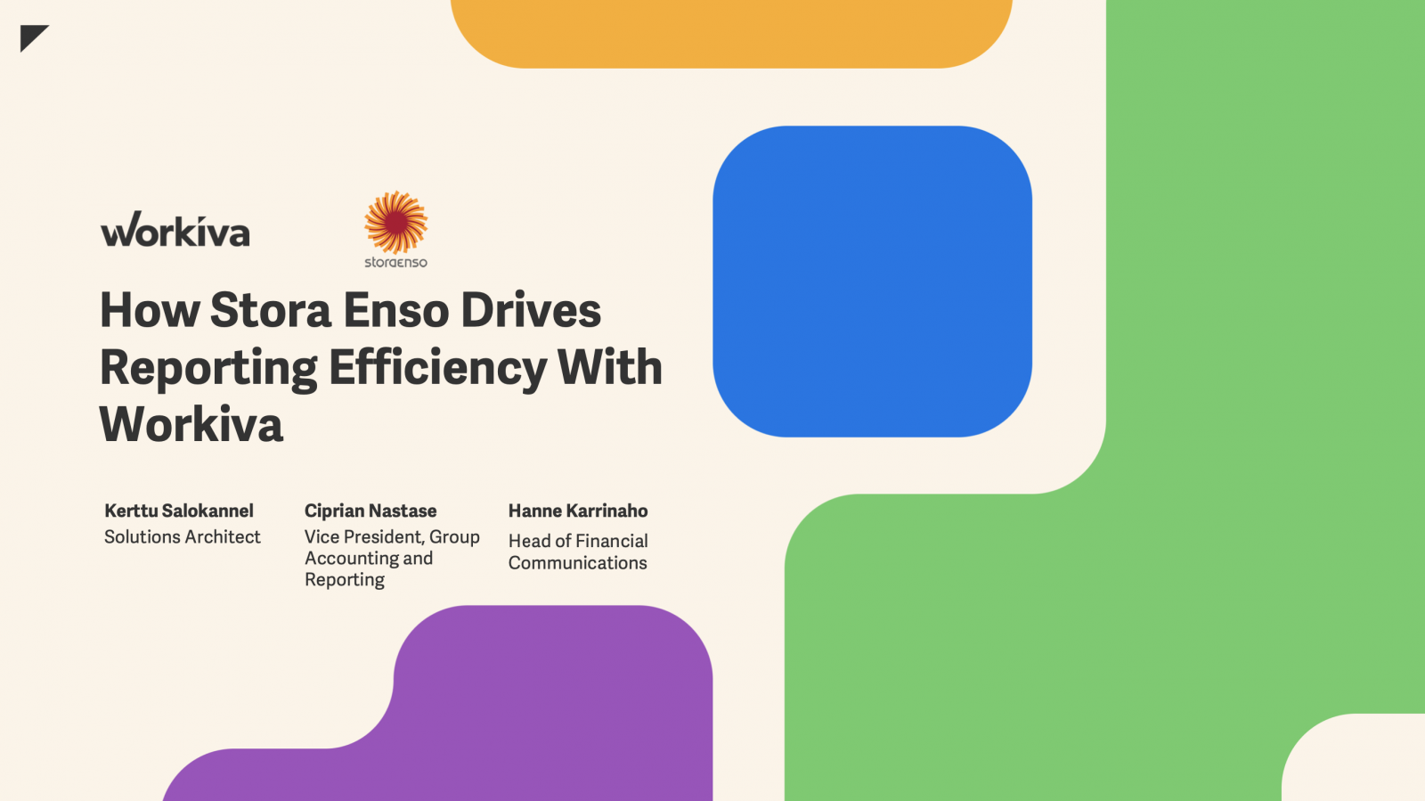 How Stora Enso Drives Reporting Efficiency With Workiva
