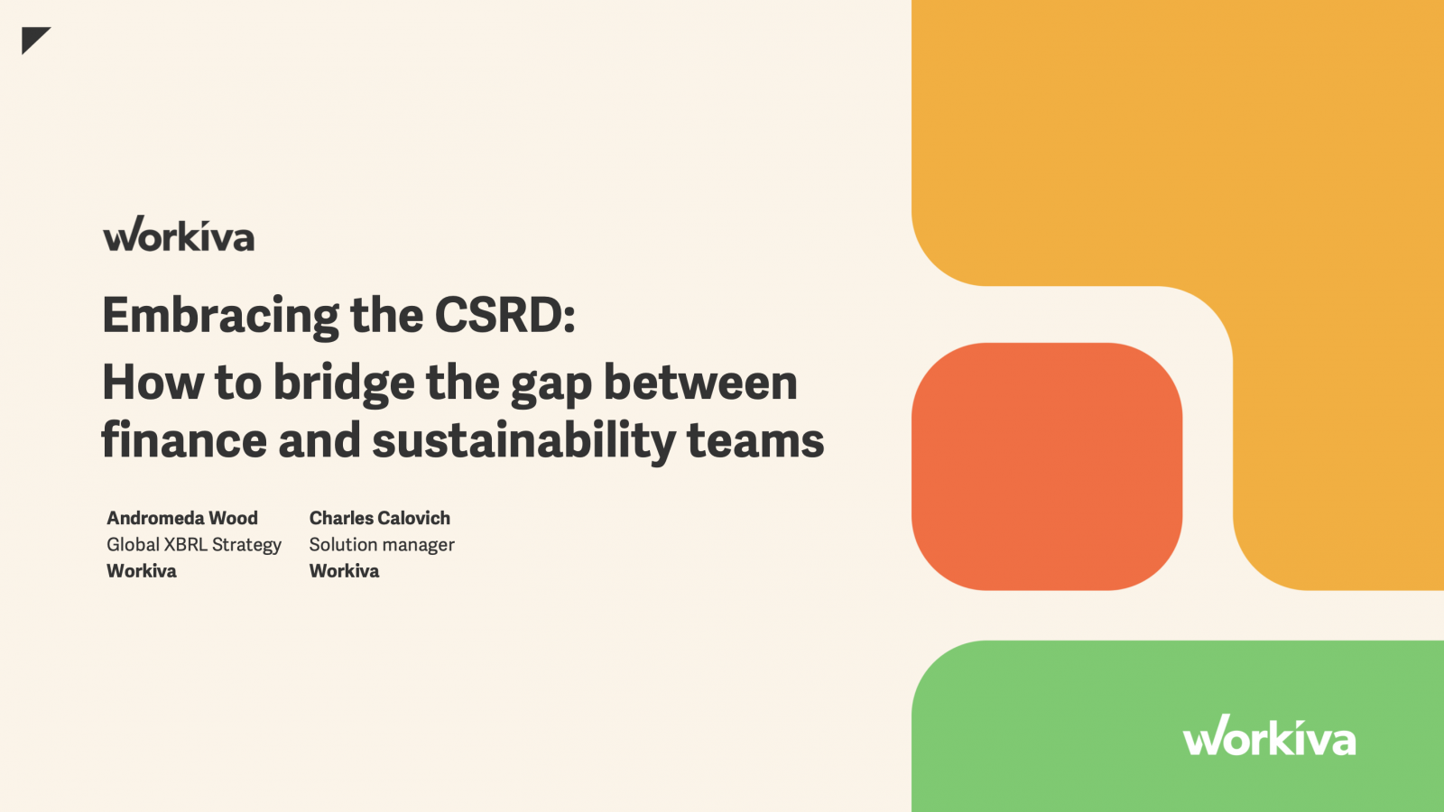 Embracing the CSRD
