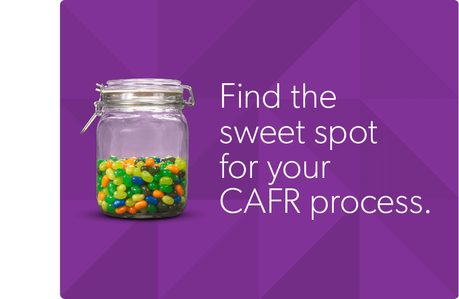 find the sweet spot in your cafr process