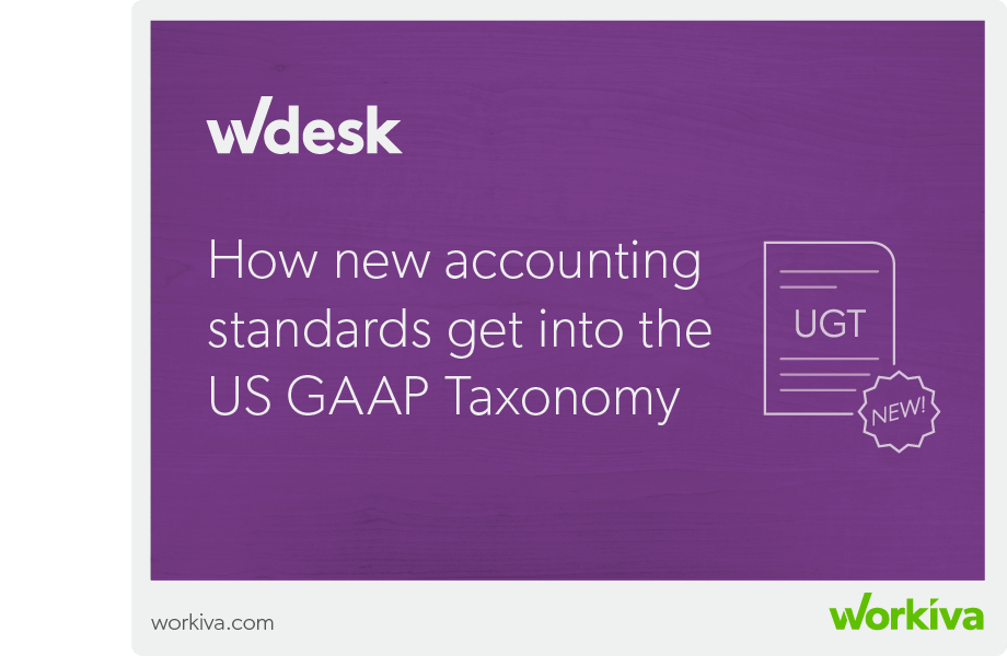 how new accounting standards get us gaap taxonomy