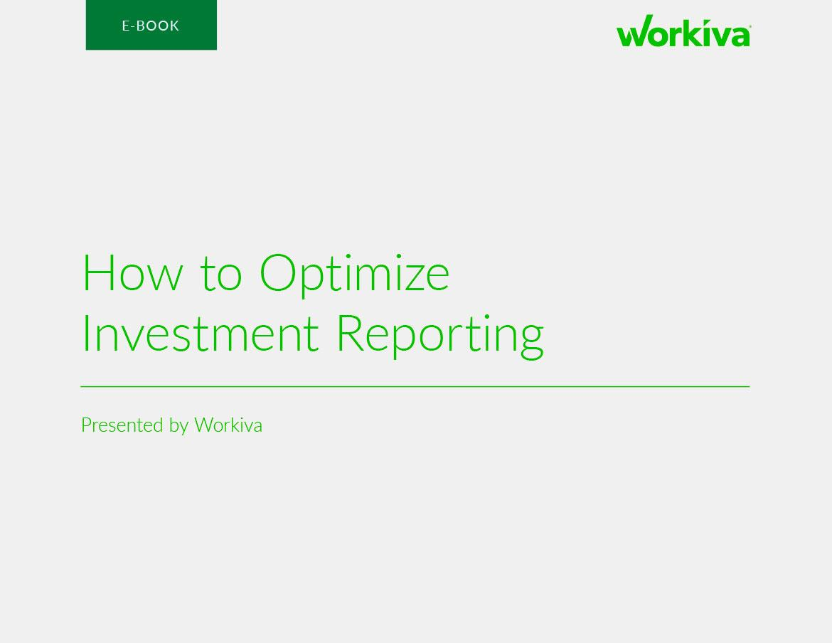 How to Transform Your Investment Reporting