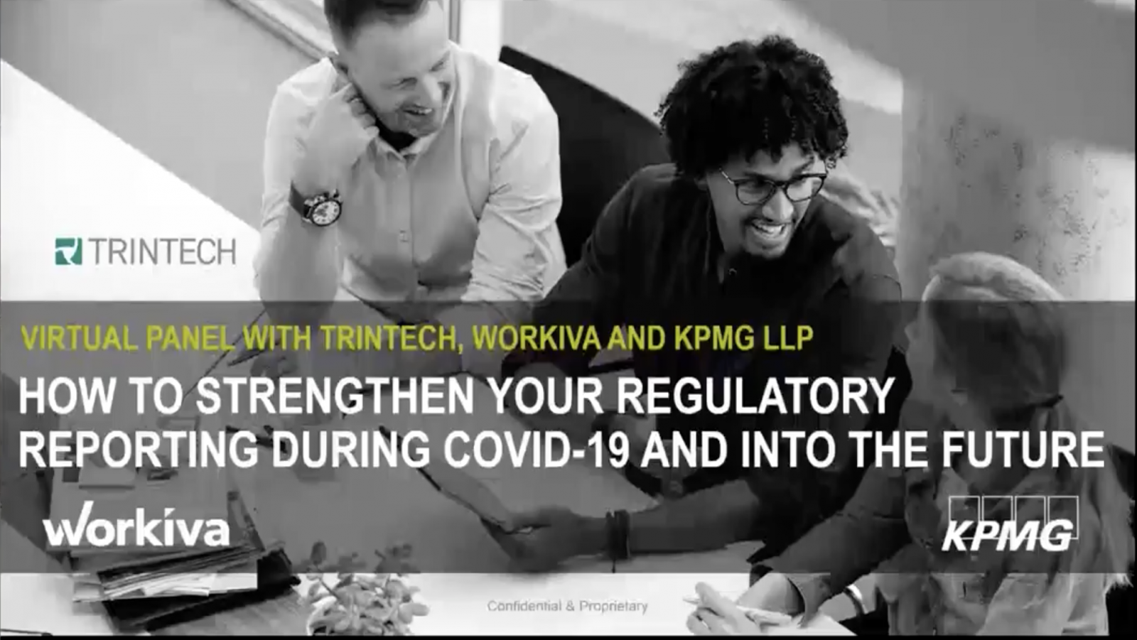 how to strengthen your regulatory reporting during covid-19 webinar title slide