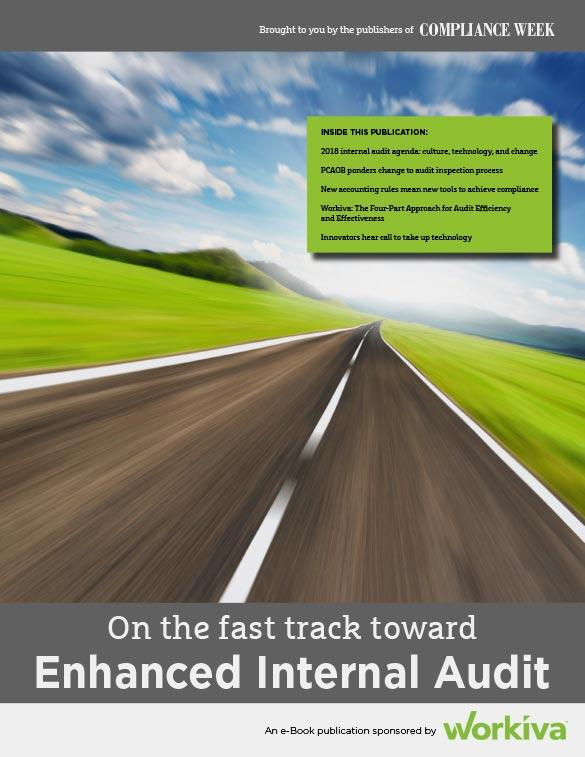 On the Fast Track Toward Enhanced Internal Audit