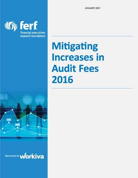 Mitigating Increases in Audit Fees 2016