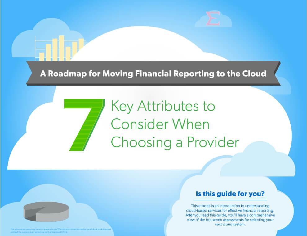 moving financial reporting to the cloud