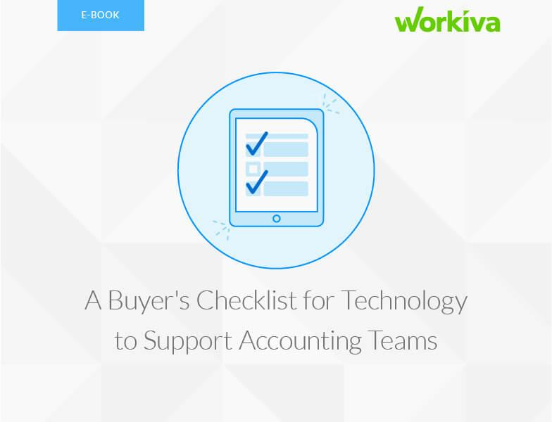 Buyer Checklist: Technology to Support Accounting Teams