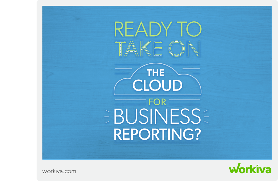 ready to take on the cloud for business reporting