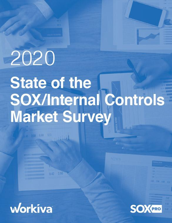 2020 State of the SOX Internal Controls Market Survey