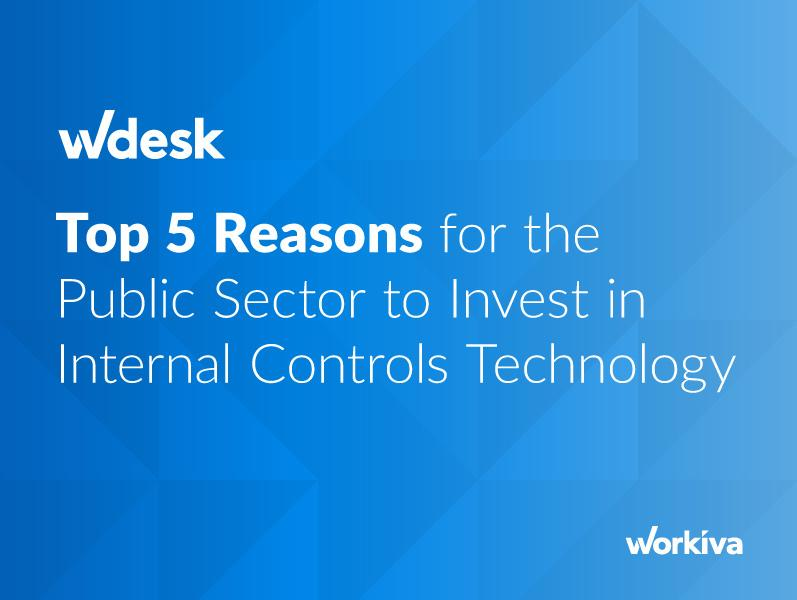 Why the Public Sector Should Invest in Internal Controls