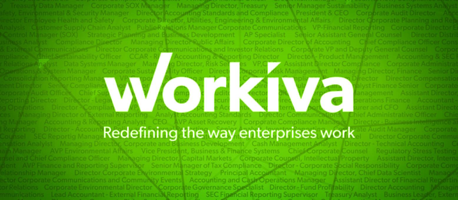 Workiva is now a publicly traded company