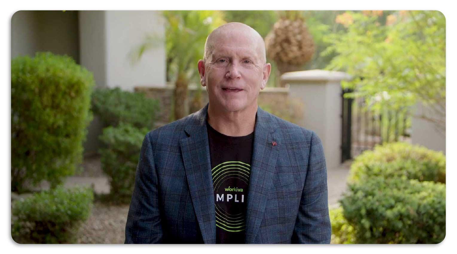 Workiva CEO Marty Vanderploeg