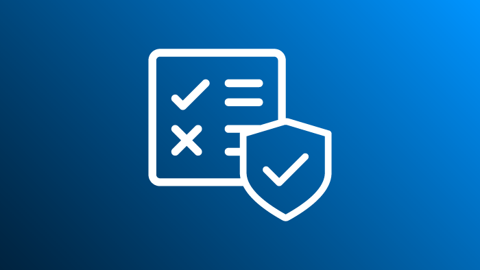 Checklist and Security Badge Icon