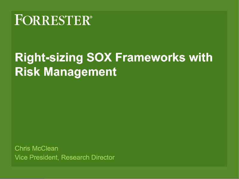 roi of modernizing sox compliance image