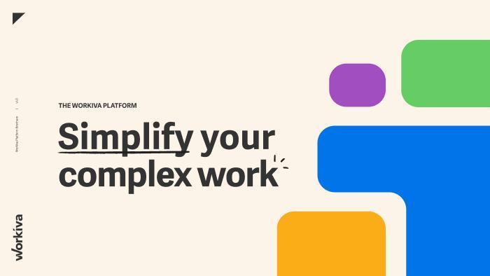 Workiva Brochure