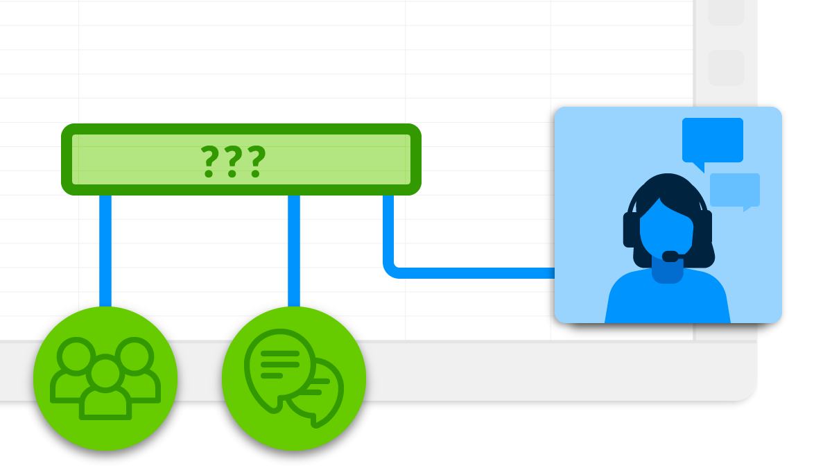 Users can ask questions any time with our expanded Customer Support team and in-app chat feature.