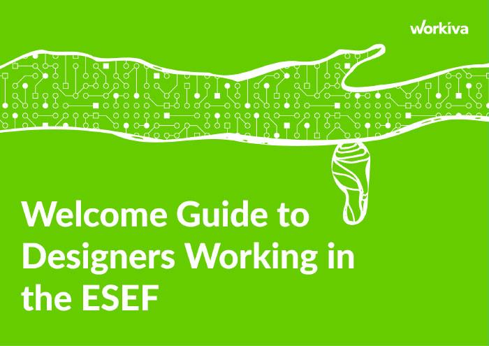 Welcome Guide to Designers Working in the ESEF