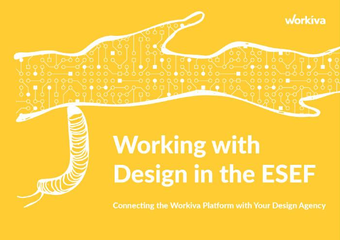 Working with Design in the ESEF