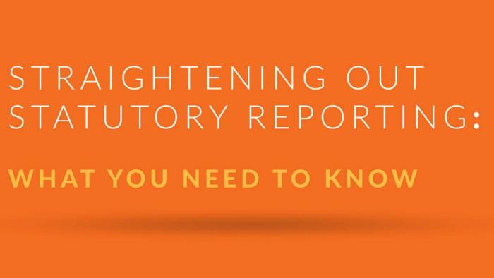How Technology Can Improve Statutory Reporting Processes