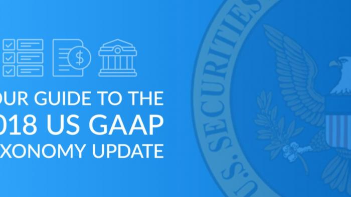Your Guide to the 2018 US GAAP Taxonomy Update