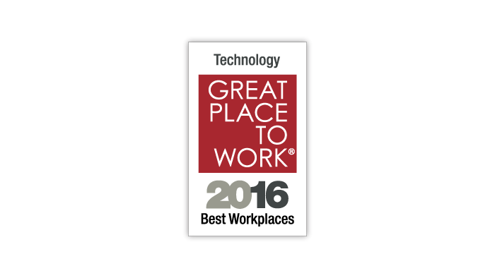 Great Place to Work 2016 10 Best Places to Work Technology