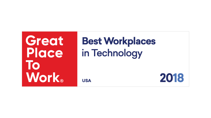 2018 Great Place to Work Best Workplaces in Technology