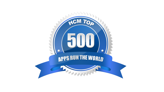 2016 HCM Apps that Run the World Cloud Top 500