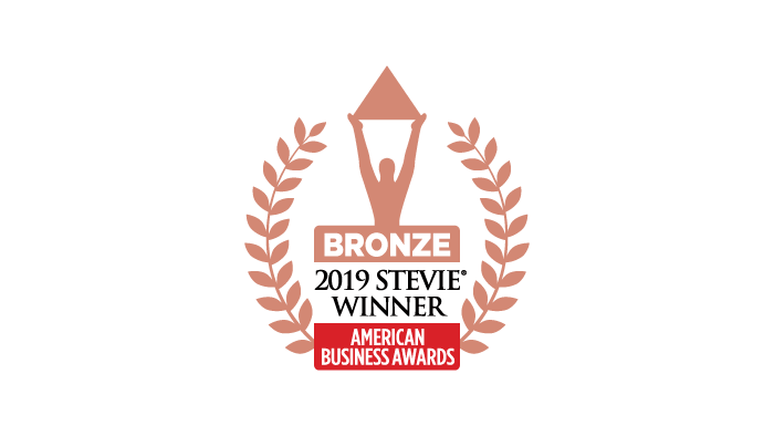 2019 Bronze Steve Award Winner Most Innovative Company