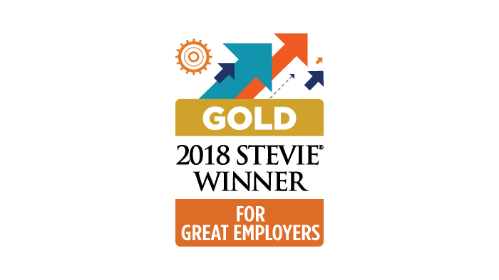 2018 Stevie Gold Award Employer of the Year